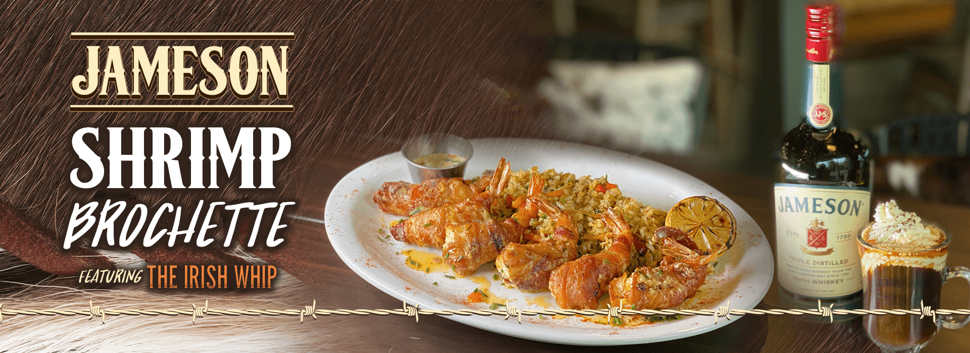 Jameson Shrimp Brochette web banner