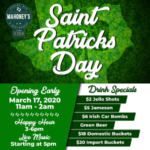 St.Patricks Day 2020 party